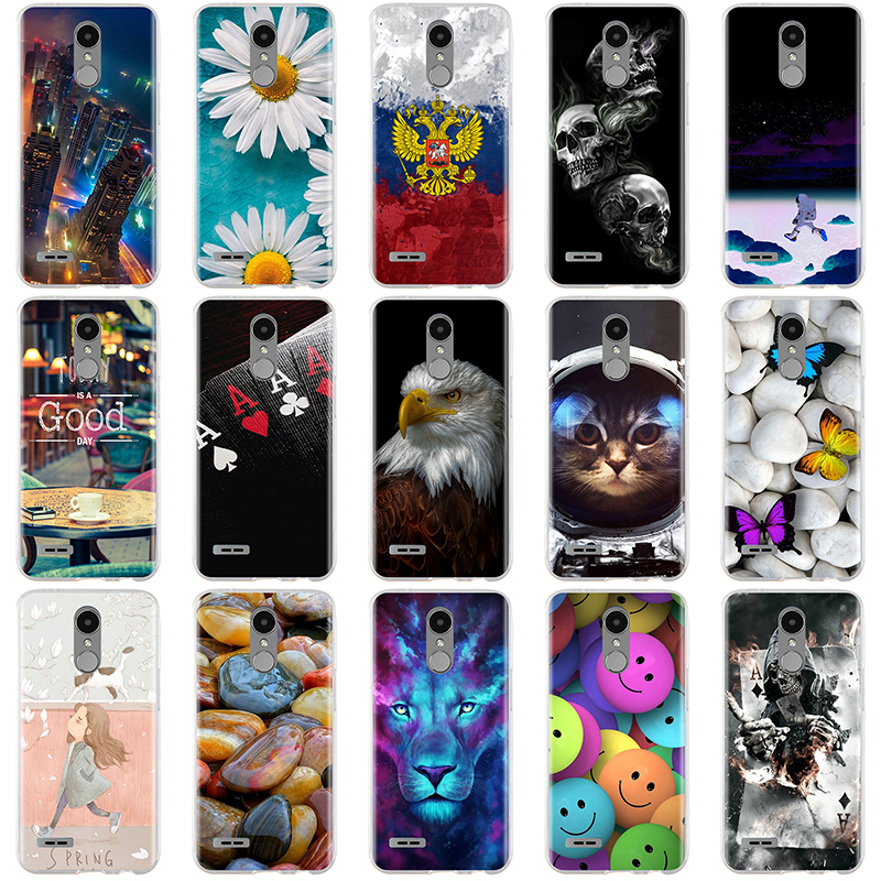 For LG K10 2017 Case Cover 3D Soft Silicone Cover For LG K7 K8 K10 2017 Case Cover Coque Funda For LG K8 K7 K10 Case