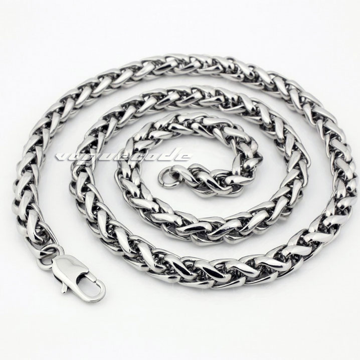 50m//roll Women Mens 304 Stainless Steel Cable Oval Chain Necklace w// Spool 0.8MM