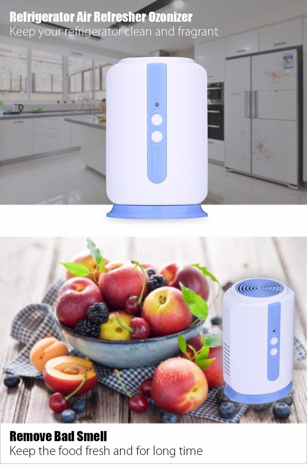 Ozone Generator Air Purifier For Home Car Food Fruit Vegetables Wardrobe O3  Ionizer Disinfect Sterilizer Fresh Air Purify