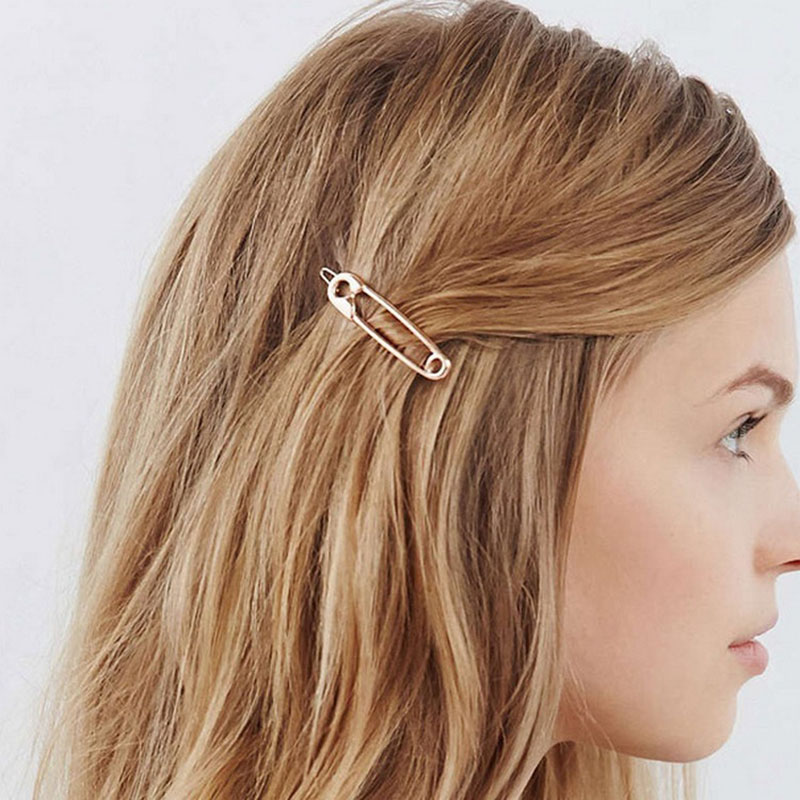 Girls Cute Rabbit Ear Hairpins Hair Clips Solid Color Hairgrip Geometric Barrettes Fashion Jewelry For Women Hair Accessories Clients First Apparel Accessories