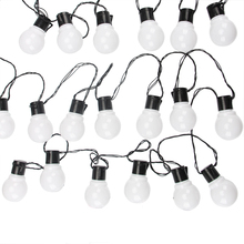 11M 38 LED מחרוזת אור חיצוני פיות אורות זר G50 נורות גן פטיו חתונת חג המולד קישוט אור שרשרת עמיד למים