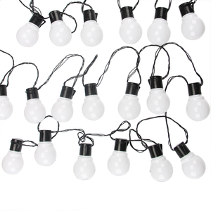 Image 1 - 11M 38 LED Stringกลางแจ้งไฟFairy Garland G50 หลอดไฟสวนPatioงานแต่งงานตกแต่งคริสต์มาสLight Chainกันน้ำ