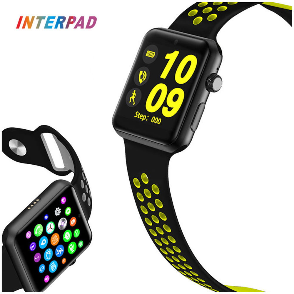 Interpad Smart Watch Pedometer Sleep Fitness Tracker Waterproof Smartwatch Support SIM Card Smart watch For Xiaomi Huawei iOS