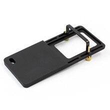 Cardán estabilizador de mano, placa del interruptor, adaptador de placa de montaje para cámara de acción GoPro Hero 4 3 + Yi 4k