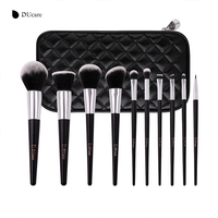 DUcare 10pcs Professional Makeup Brush Set Multifunction Soft Cosmetic Brushes Foundation Make Up Brush Tool