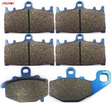 Sintering Disc Brake Pads Set for KAWASAKI ZX6R 600 ZX Ninja ZX6 1993 - 1997 Front Rear 97 93 96 95 94(China)