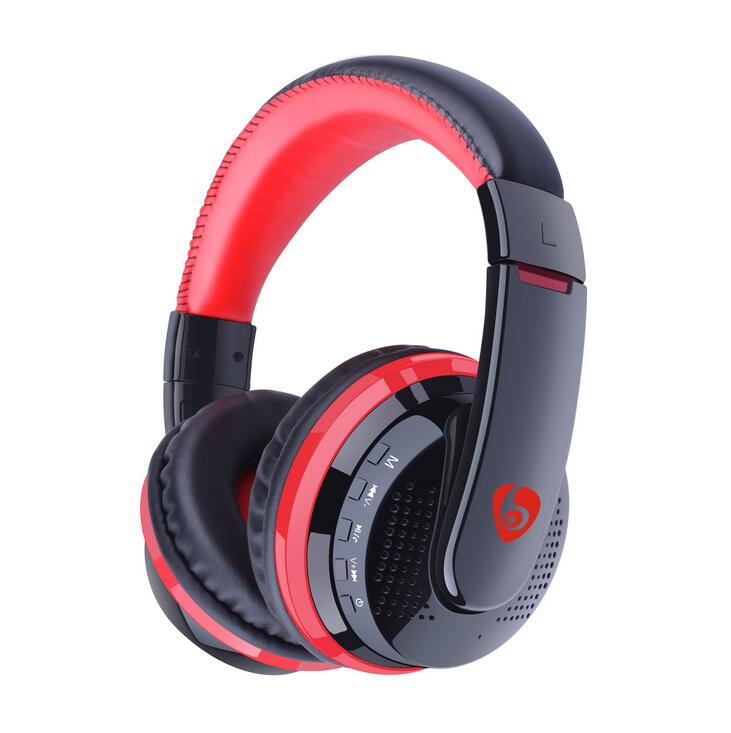 ФОТО OVLENG MX666 Bass Headphone Wireless Bluetooth Noise Cancelling Bluetooth Headphones FM Headset Earphone for Phone PC Computer