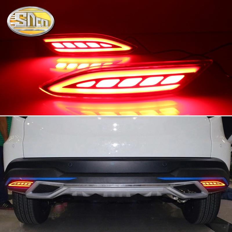 Honda HR-V HRV Vezel üçün 2015 2016 2017 2018 2018 Led Arxa Bamper Əyləc İşıq Dönüş Siqnal lampası Sürücü İsti işıqlar avtomobil aksessuarları