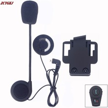 New Micorphone Speaker & Clip Accessories ONLY Suit for FDCVB Helmet Bluetooth Intercom Headset