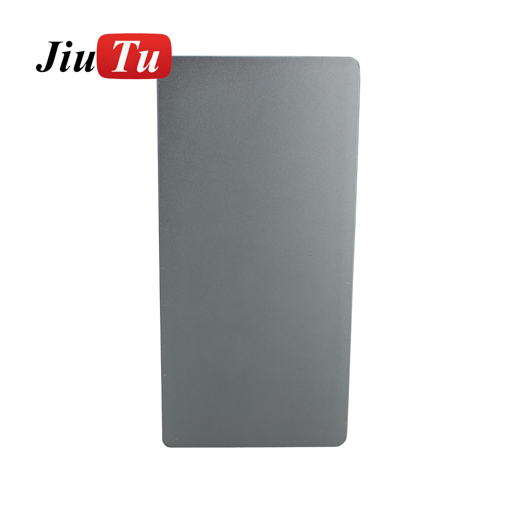 Aluminium Mould For iPhone plusX Laminator mold metal jig Only for the front glass with frame Location for OCA user (6)