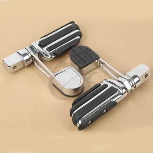 Motor Foot Peg Footrest Heel Stirrup For Honda VTX 1300 VTX1800 2002-2011 03 09