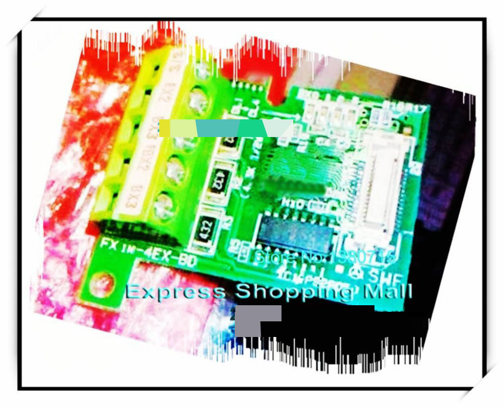 New Original FX1N-4EX-BD PLC Input Expansion Board new original fx3u usb bd plc usb driver