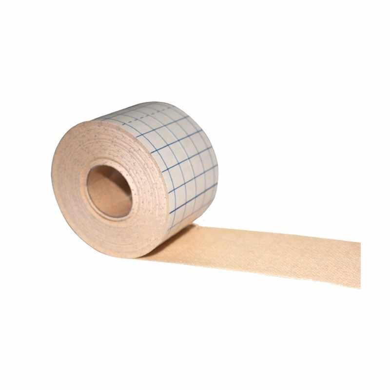 1 rolo médico não-tecido fita adesiva emplastro respirável anti-alérgico medicina ferida molho fixação remendos bandagem