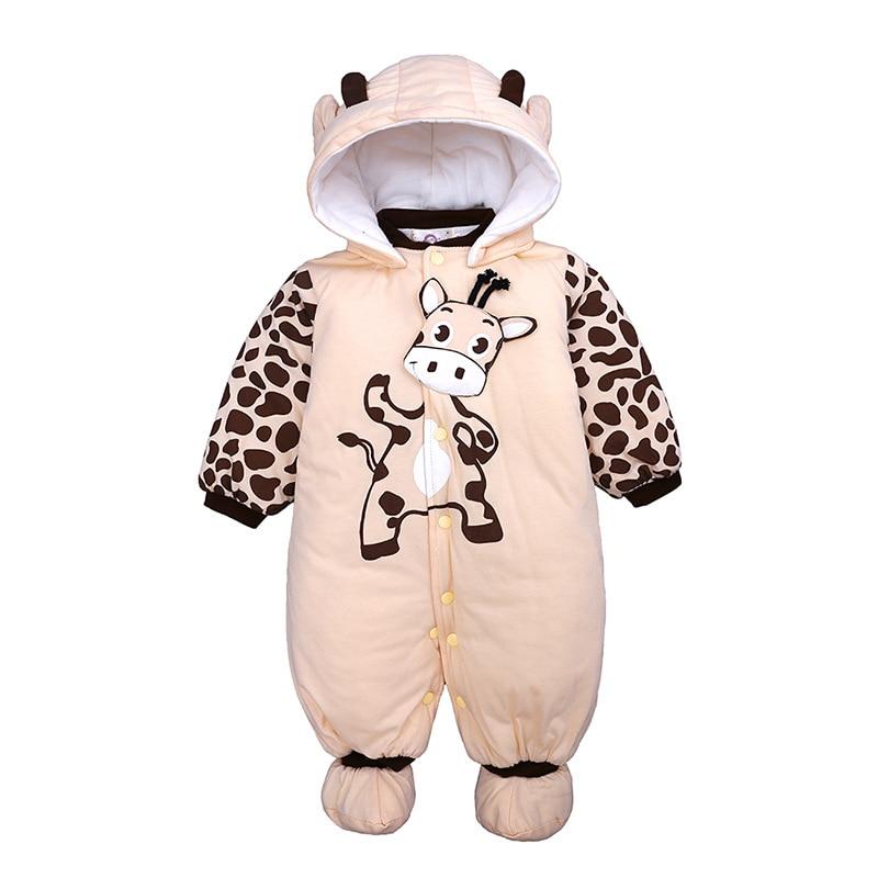 Newborn Baby Clothes Unisex Children Overalls 2019 Autumn Winter Baby Romper For Girls Infant Cotton Jumpsuit Baby Boy Costume