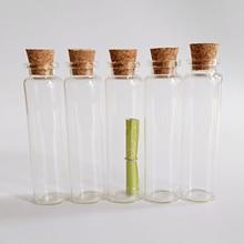 цена на Corked Glass jar 20ml Clear Wishing glass bottle with cork 22*80mm Home Decoration jar 30pcs/lot