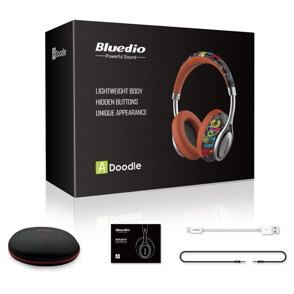 100% Orignal Bluedio A2 casque Bluetooth casque Subwoofer véritable stéréo Hi-Fi Sport casque de musique sans fil pour jeu vidéo - 6