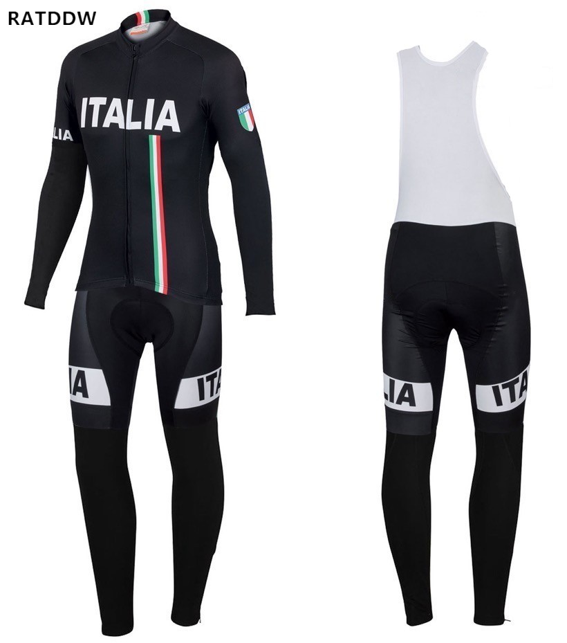 Italy Winter Thermal Cycling Clothing 2017 Men Fleece Jersey Bike Bicycle suits Cycling Kit Bicycle Clothing Ropa CiclismoItaly Winter Thermal Cycling Clothing 2017 Men Fleece Jersey Bike Bicycle suits Cycling Kit Bicycle Clothing Ropa Ciclismo