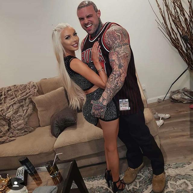Bodycon Women Bandage Set Vestidos 2 Two Pieces Set Tank&Skirt Bead Clubwear Celebrity Evening Party Dress 1