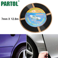 Super Quality Universal Black 40Ft 1280cm Car Door Edge Guard Molding Trim DIY Protector Strip