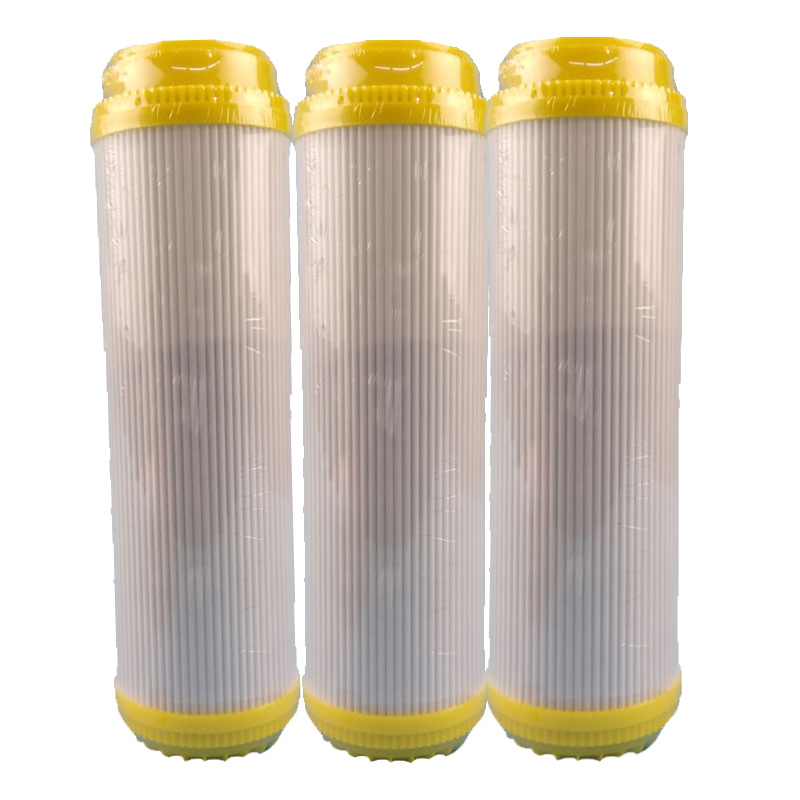 цена на 3pcs 10 Inch rear activated carbon filter core adsorbed special taste to improve taste Coconut shell activated carbon filter
