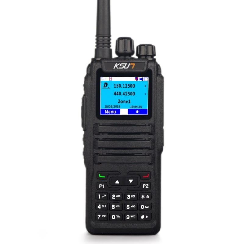U/V Dual Band Professional FM Transmitter DMR7 D2 Ham Radio Equipment With DTMF Walkie Talkie