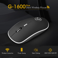 Imice Wireless Mouse Silent Komputer Mouse 2.4 GHz 1600 Dpi Ergonomis Mause Bersuara USB PC Tikus Bisu Tikus Nirkabel untuk laptop(China)