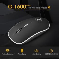 IMice беспроводная мышь Бесшумная компьютерная мышь 2,4 ГГц 1600 dpi эргономичная Mause бесшумные USB ПК мыши Mute Беспроводные мыши для ноутбука