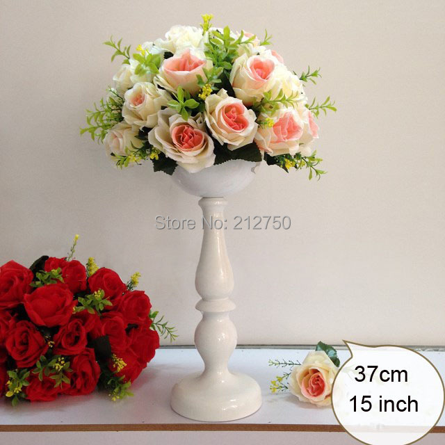 2015 New Arrival Express Free Shipping White 37cm 15inch Wedding