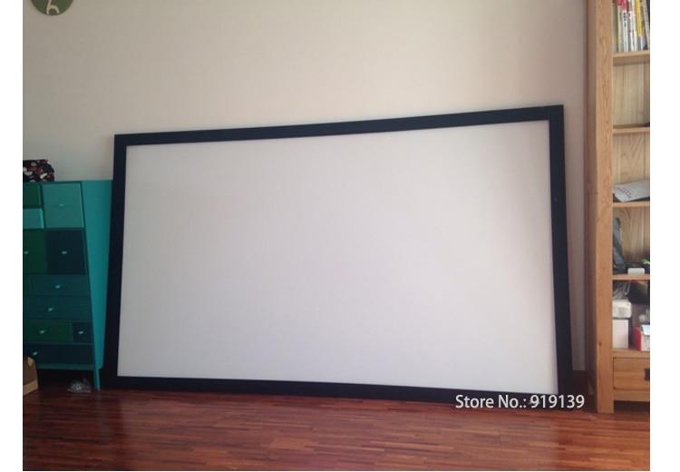 Cine en Casa 84 pulgadas Diagonal con 16:9 plano fijo Marcos 3D ...