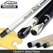 цены High Quality Max Weight 21 oz Billiard Pool Cue Maple Billiard Cues Shaft 13mm 11.5mm 10mm Tips Black/White Color Made In China