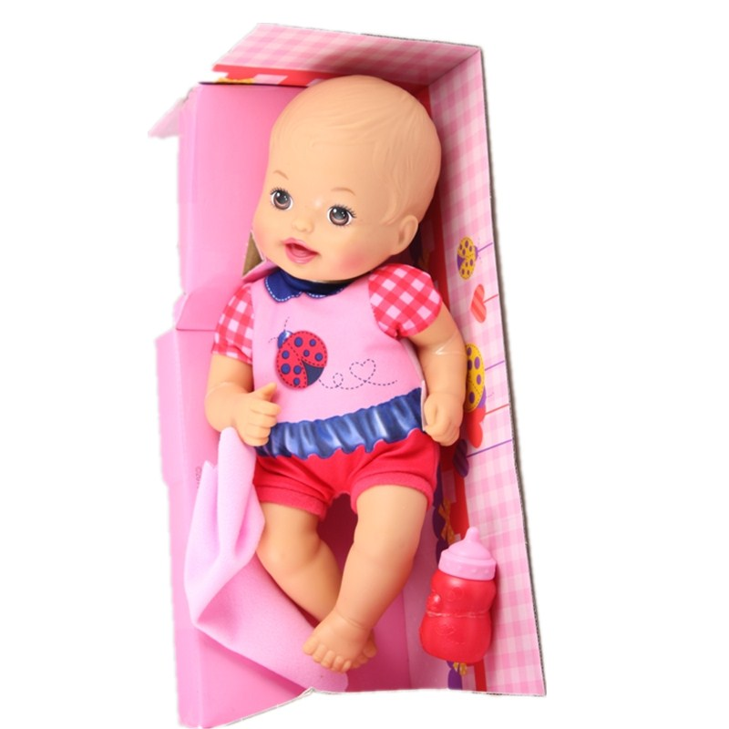 35cm Doll Reborn Baby Born Doll Express Free Shpping Best children Toy gift D02 4color choose set clothes hairbrand wear fit 43cm baby born zapf children best birthday gift only sell package