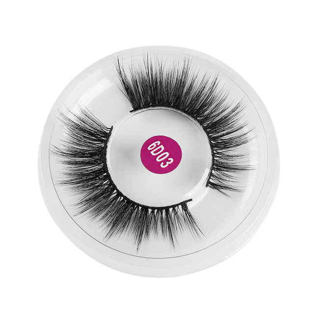 1 Pair 3D Faux Mink Hair False Eyelashes Criss-cross Feathery Wispy Lashes Natural Long Eyelashes 7 Styles Lashes Makeup Tools 4