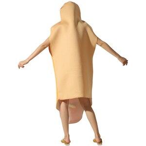 Image 4 - Mono de salchicha con estampado 3D divertido para hombre, disfraces de comida para perros calientes, disfraz de Halloween para niños, Festival para adultos, vestido de fantasía a juego para Familia