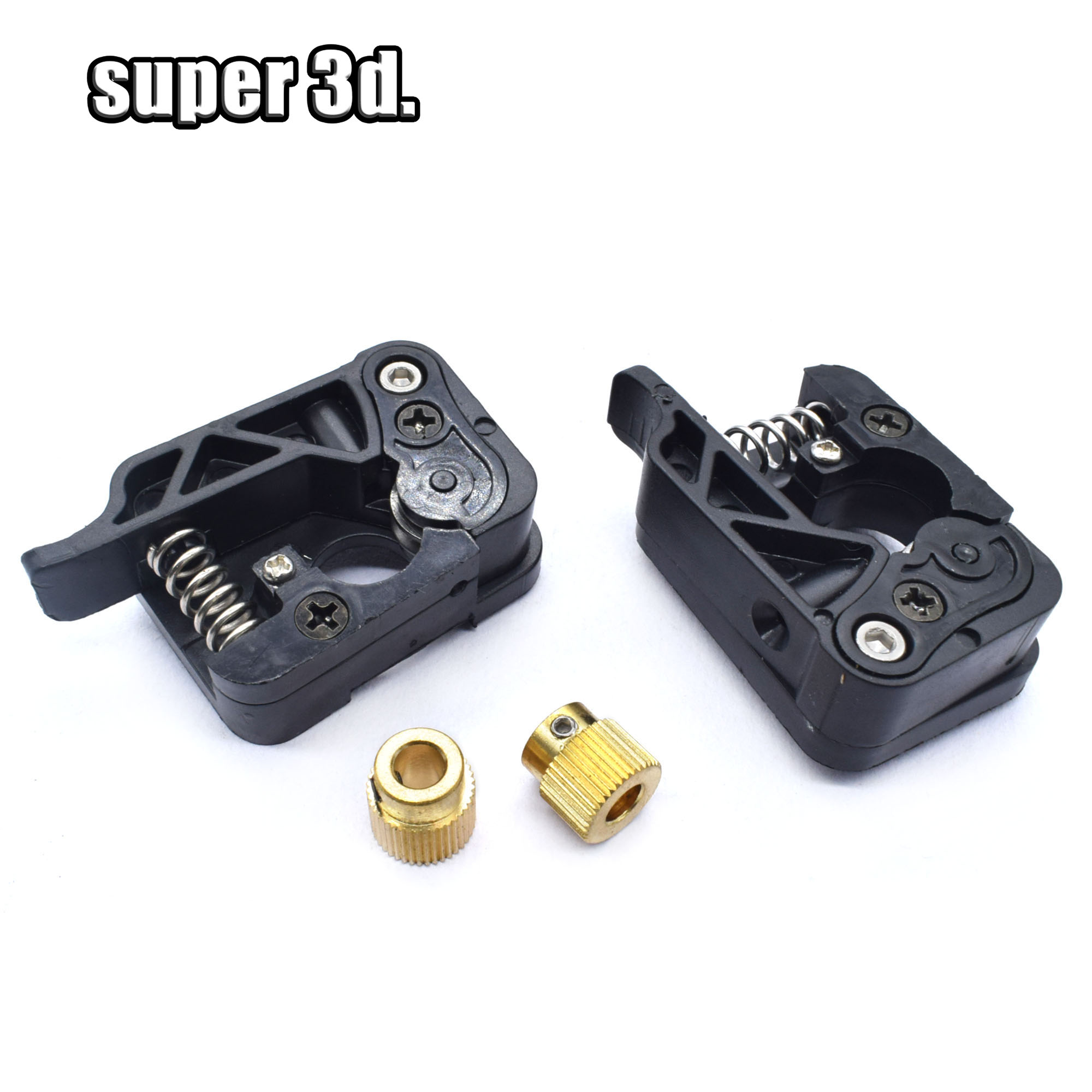 3D Printer Parts MK8 MK9 Extruder Feeder Device Kits Right Hand & Left Hand Side Fit 42mm Motor 1.75mm/3.0mm Fliament