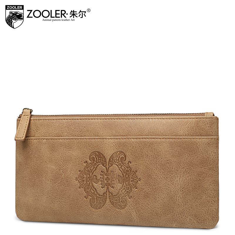ФОТО ZOOLER Genuine Leather wallets men coin purses vintage super soft Men wallets leather clutch bags  real leather Handbags  #31110