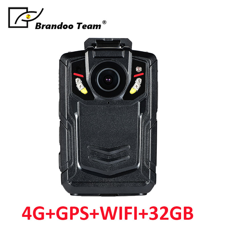 32GB Full HD 1080P Police Body Worn Video Camera Recorder DVR IR Night Cam with 4G GPS WIFI function 32gb full hd 1080p police body worn video camera recorder dvr ir night cam with 4g gps wifi function