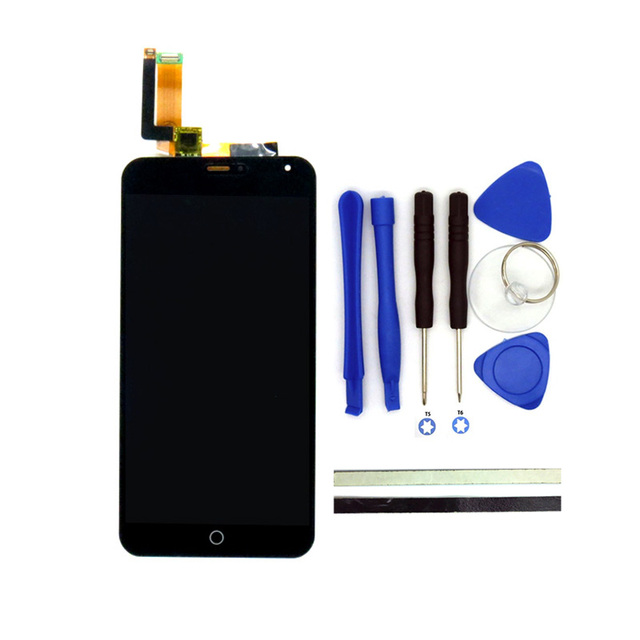 100% New For Meizu M1 Note LCD Display + Digitizer Touch Screen Replacement 5.5Inch M1 Note Cell Phone Parts With Free Tools