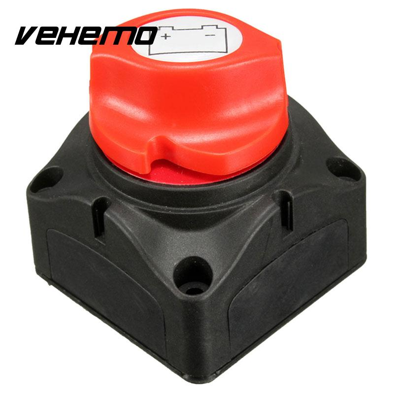 Vehemo Marine Yacht Knob font b Battery b font Rotary Isolator Cut Off Power Kill Switch