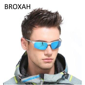Retro Men's Sport Goggles 2019 Aluminum Magnesium Sunglasses Polarized Driving Sun Glasses Male Shades Gafas De Sol Hombre