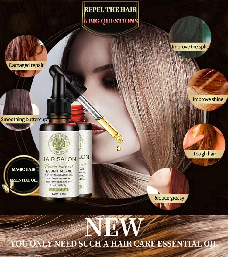 All-Natural Hair Regrowth Serum