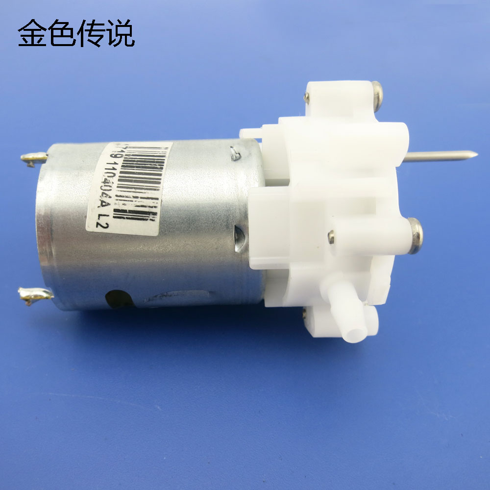 Jmt 360 pump with needle 360 micro pumps water pumps diy for Dc motor water pump