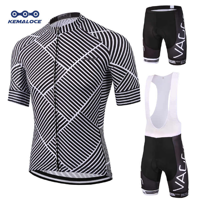2a0a060fb Kemaloce Breathable Men Cycling Clothing Sets Spring Summer Short Sleeve Bike  Wear Suits Ropa Ciclismo Bicycle