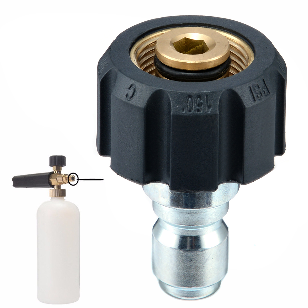 M22 14mm Quick Release Thread For Pressure Washer Swivel Joint Connector Fitting