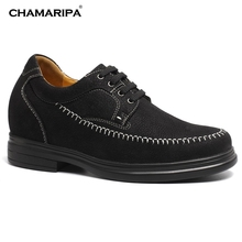 CHAMARIPA Increase Height 9cm/3.54 inch Men Elevator Shoes Casual Tall Men Shoes Make You Taller