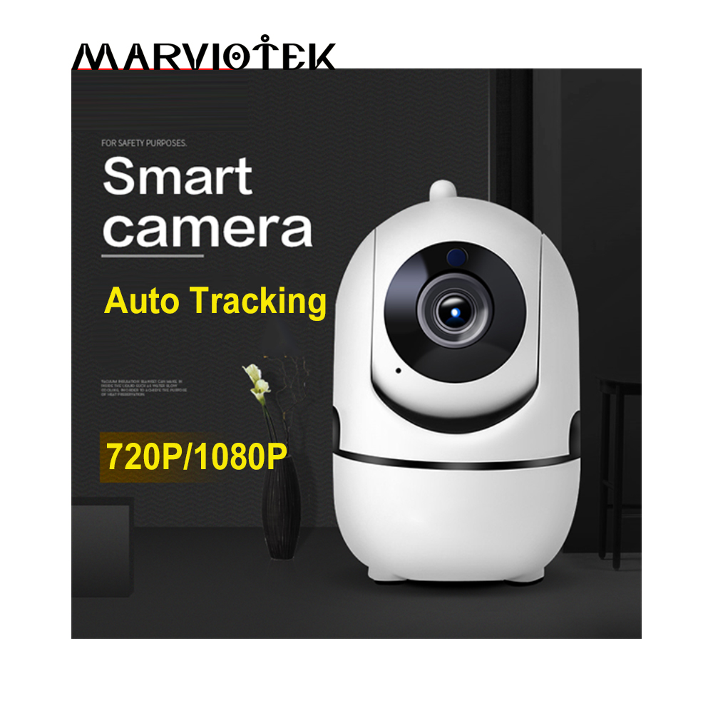 1080P Full HD Wi-fi Camera Wireless IP CCTV Camera Wifi Network Surveillance Auto Tracking Camera IR CUT Night Vision Onvif 300kp wireless wi fi network cctv surveillance ip camera w 10 led night vision microphone grey