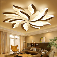 2017 Top Fashion Ce Rohs New Design Acrylic Modern Led Ceiling Lights For Living Room Bedroom Lampe Plafond Avize Indoor Lamp