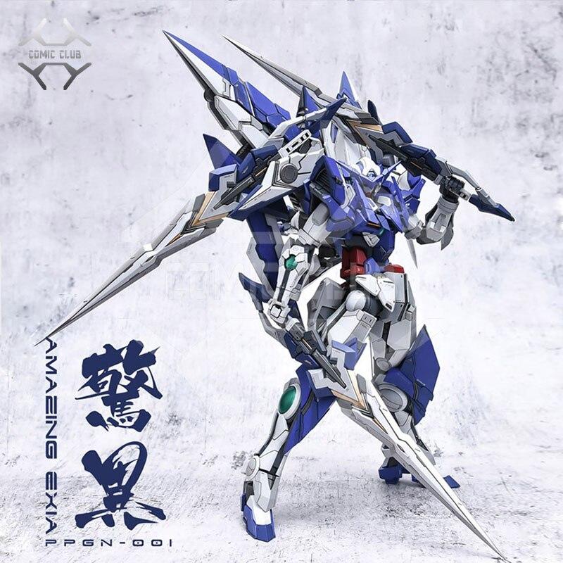 Comic club PRE-SALE набор из смолы GK для Gundam MG 1/100 Amazing Exia Gundam сборная игрушка фигурка