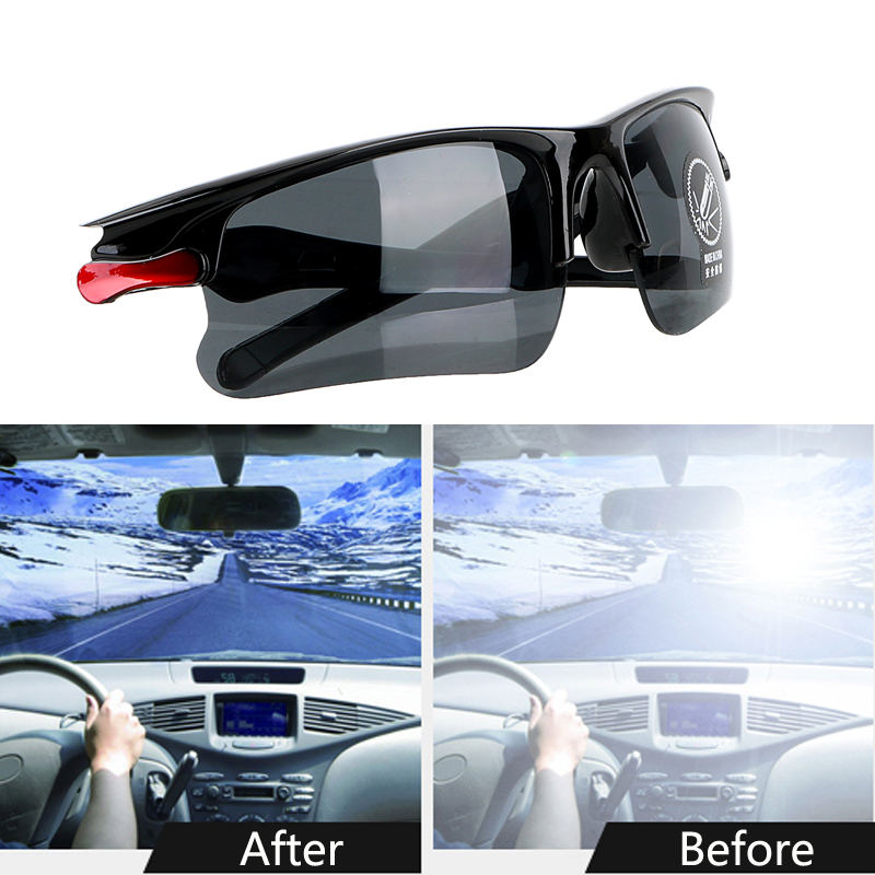 Car Driving Glasses Night Vision Glasses Protective For <font><b>Lada</b></font> Granta Vaz Kalina Priora Niva Samara 2 2110 Largus <font><b>2109</b></font> 2107 2106 image