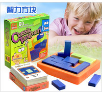 Quality IQ Logic Puzzle Mind Brainteaser Kids Educational Puzzles Gift Game Toys for Children Adults