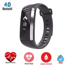 Приборы для измерения артериального давления SmartBand M2 спортивные Фитнес браслет наручные часы сердечного ритма Мониторы трекер сотовый телефон Bluetooth Android